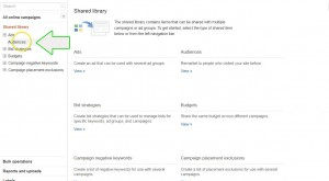 AdWords remarketing to WordPress step 3