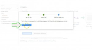 add Remarketing to wordpress  step 7